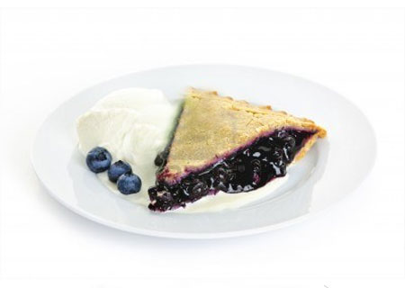 Blueberry Pie & Ice Cream