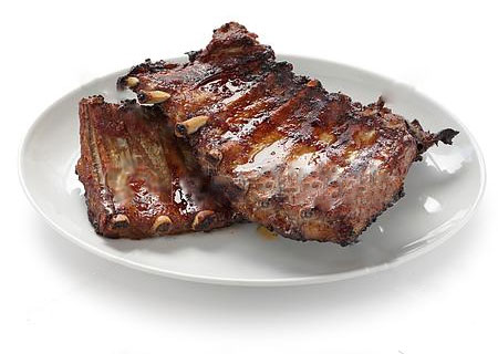 ½ Rack of Port Spare Ribs